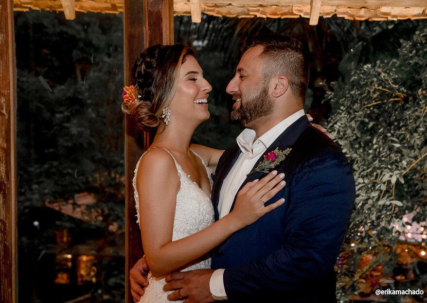 Bianca & Paulo: a realização de um sonho com cerimônia emocionante celebrada por Liandra Zanette e festa inesquecível