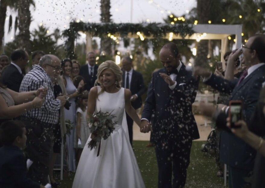 Alba Tudó y sus vídeos de boda que captan la esencia