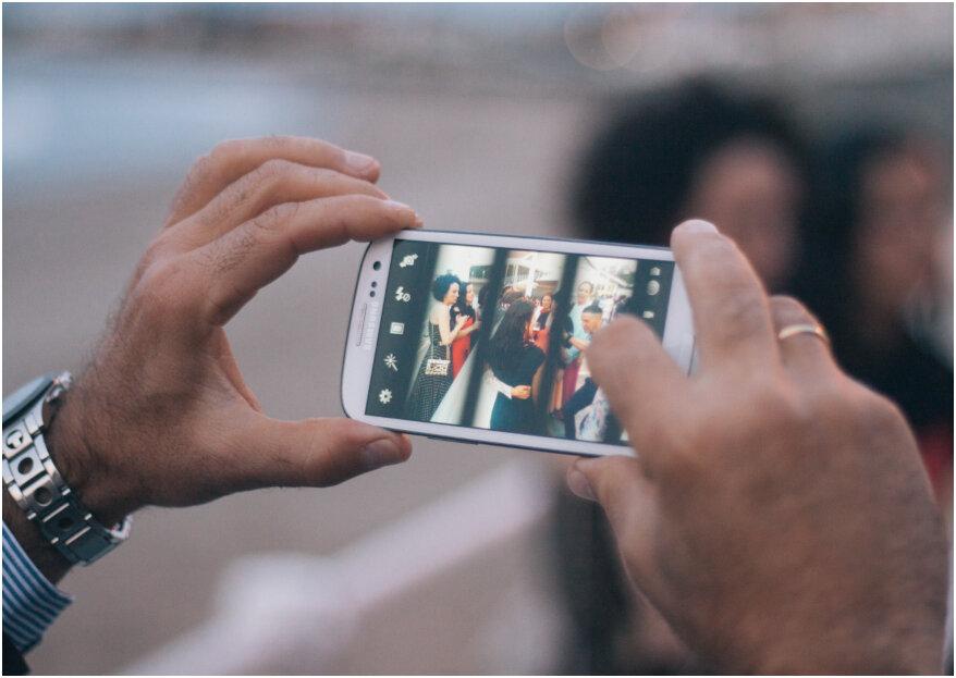 ¿Son positivas las redes sociales en tu boda? ¡Descubre lo que dice esta experta!