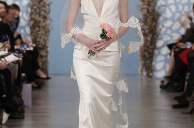 Tendencias 2014: Vestidos de novia con escote en V
