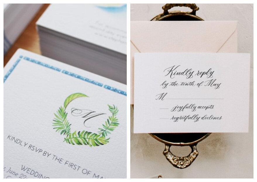 RSVP op je trouwkaart: wat is het en waarom is het belangrijk?