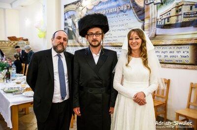 Reportaż z drugiego w polsce ślubu żydów ortodoksyjnych. Para Isroel i Ester Szpilman!