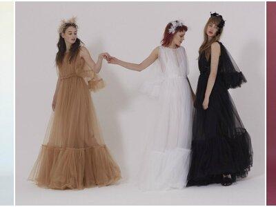 Vestidos de novia de color: ¡Arrasarás con estas propuestas diferentes!