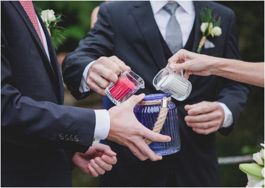 Ceremonia de la arena para tu boda: ¡esto es lo que debes saber!