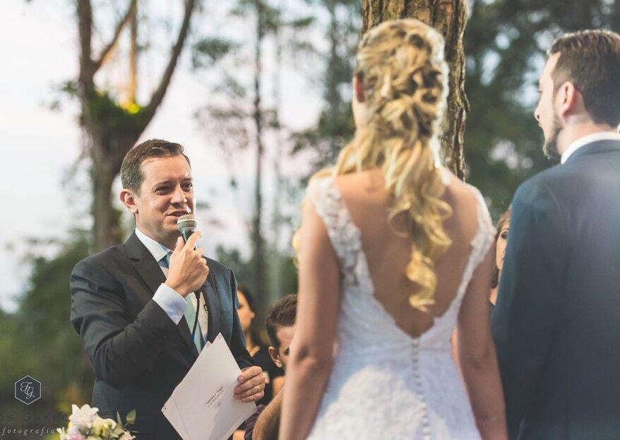 """Cerimônias bilíngues: saiba como funcionam e tenha um casamento super personalizado com Maurício Macri da empresa """"Eu caso vocês"""""""