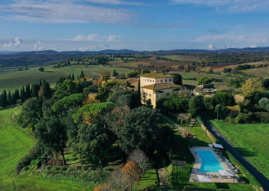 Villa Sabolini : un cadre authentique et familial pour votre mariage en Toscane