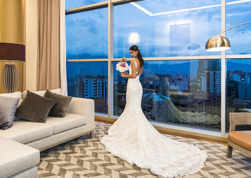 Hotel Marriott Medellín: elegancia, innovación y confort para una boda de ensueño