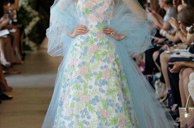 Los colores pastel en los vestidos de novia del 2013