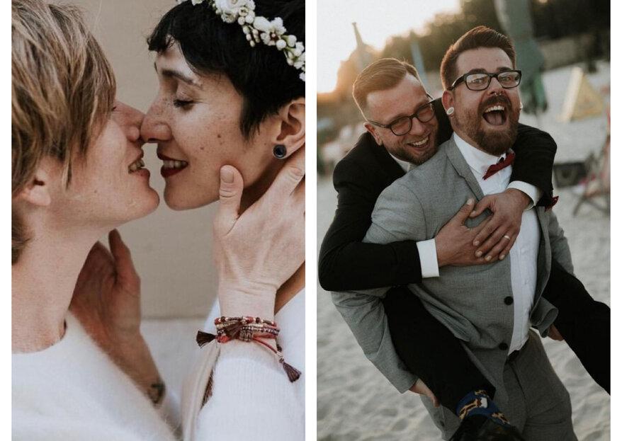 Gleichgeschlechtliche Hochzeiten: So feiern Sie authentisch!