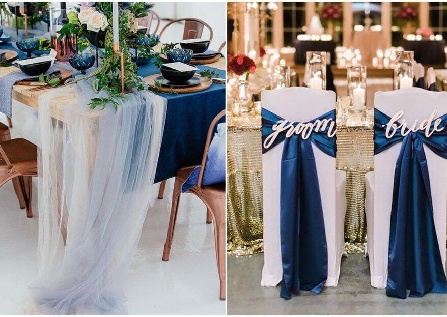 Decoração de casamento azul: 50 ideias de tirar o fôlego!