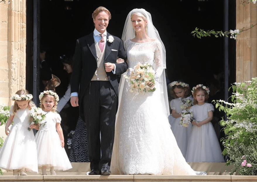Traumhafte Royal Wedding: Lady Gabriella Windsor und Thomas Kingston haben geheiratet!