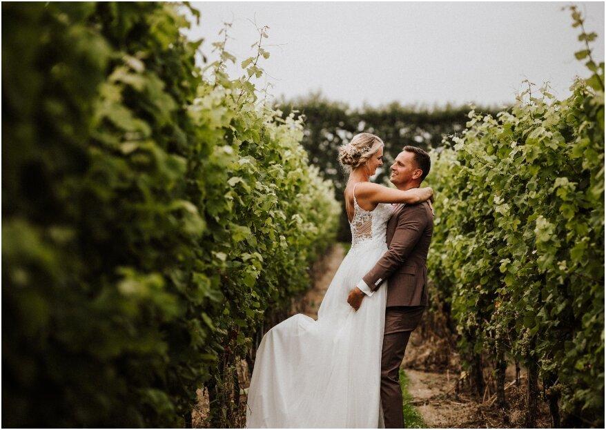 Dansen in een wijngaard: een prachtige locatie en volop romantiek!