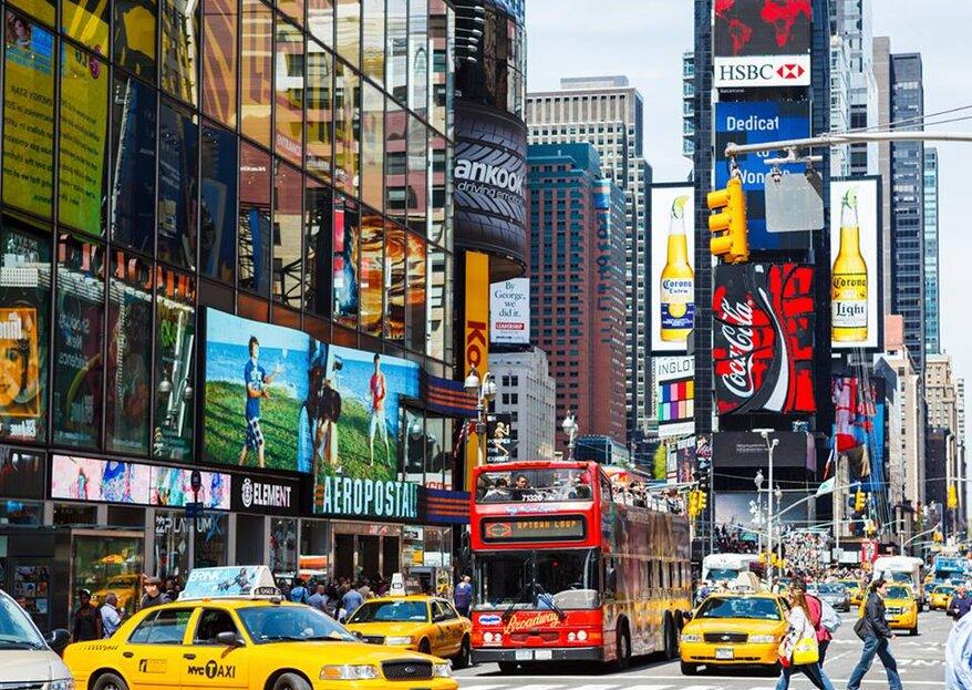 Nova York do seu jeito: sua lua de mel com a Abreu repleta de novas experiências