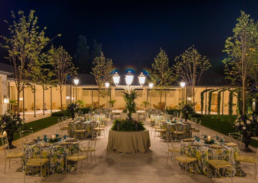 La magia de Villa Laureana, un espacio de lujo romano para tu boda en el norte de Madrid
