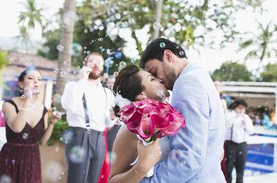 Paula & Moreno:  festa de casamento dos sonhos em Ilhabela