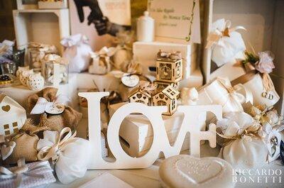 Sapevi che un matrimonio organizzato da un professionista costa il 20% in meno che le nozze 'fai da te'?
