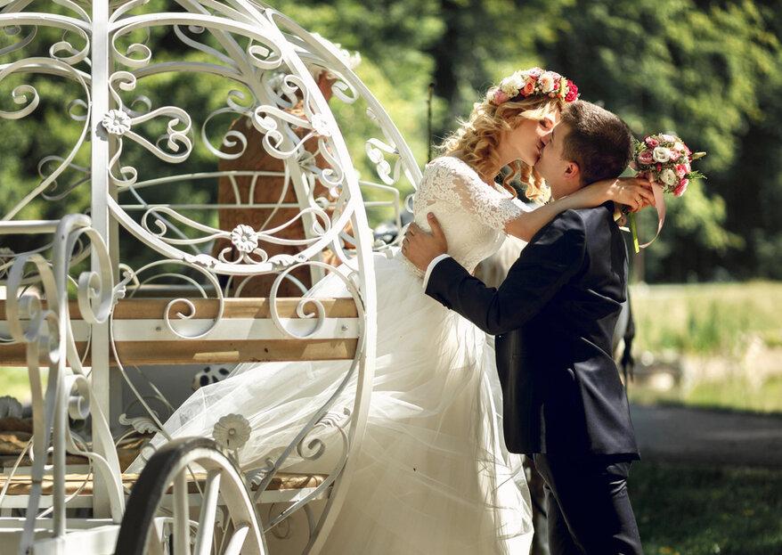 Heiraten auf dem Schloss - fühlen Sie sich wie eine Prinzessin