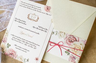 Saiba como escolher o convite certo para cada estilo de casamento
