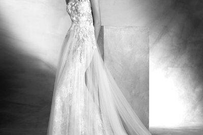 Brautkleider mit floralen Details: DER Trend für Ihre Hochzeit 2017