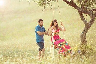 Storia d'amore e location post-cerimonia devono fondersi: ecco la foto che emoziona!