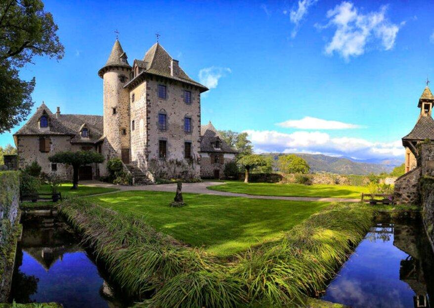 Vivez votre beau jour dans ces châteaux de rêve