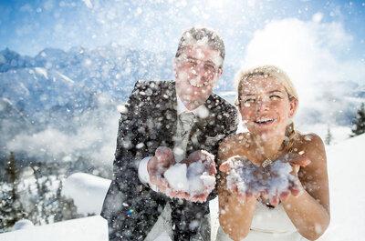 Les meilleures tendances pour un mariage en hiver à la montagne!
