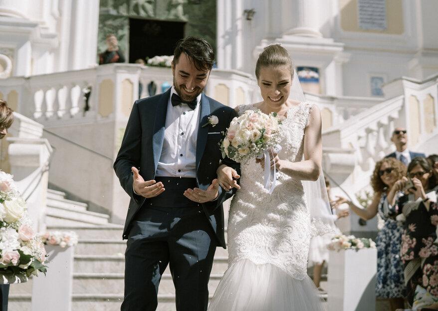La boda italiana con más estilo: el gran día de Gea y Valerio