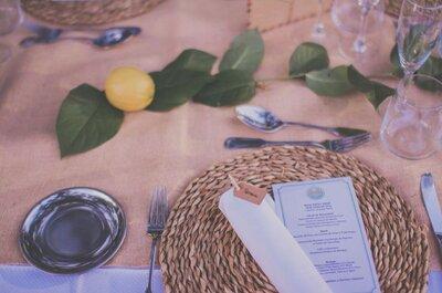 Una celebración saludable es posible. ¡Organiza una boda détox!