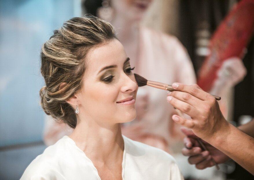 10 Gebote für das Braut-Make-up - So strahlen Sie an der Hochzeit!