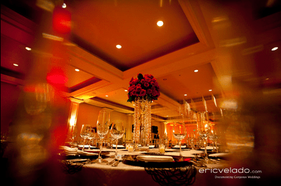 Decoración de boda estilo clásico