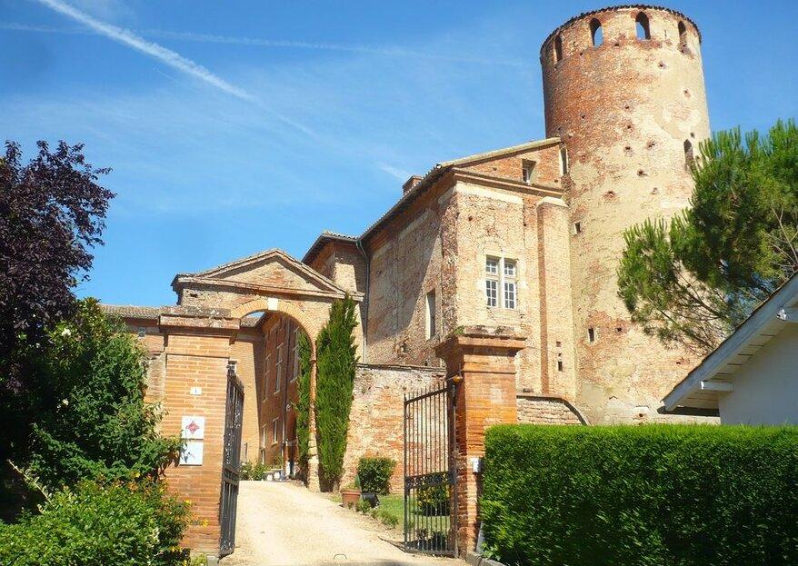 Le Château de Launac : célébrez votre union entre les murs d'un vrai bijou architectural au charme infini