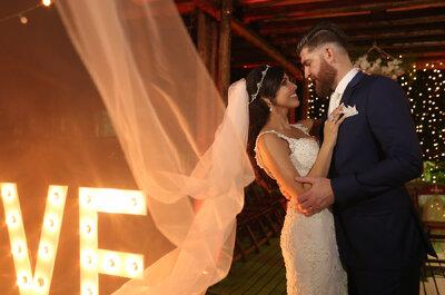 Casamento rústico chic de Angélica & Fernando: noivos LINDOS em festa country!