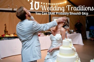10 Wedding Traditions You Can (And Probably Should) Skip