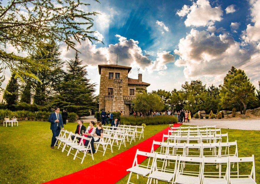 Los Torreones: un espacio del siglo XIX para una boda histórica