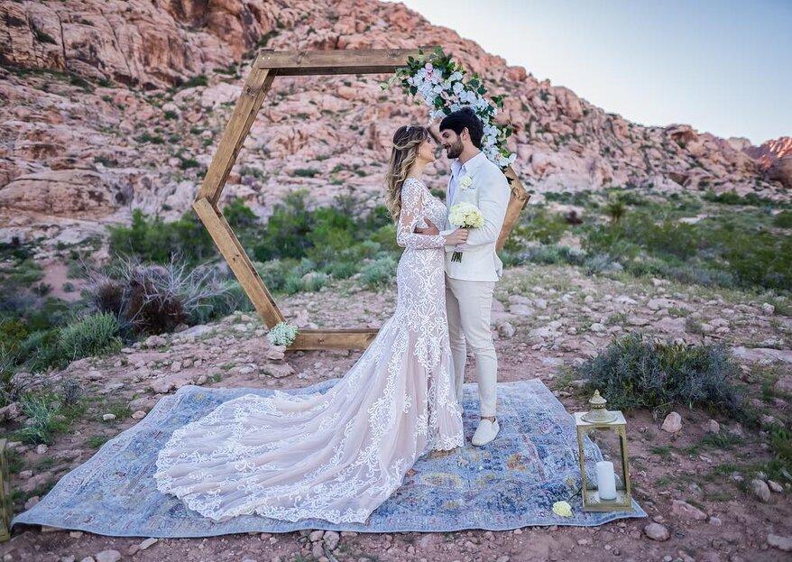 Ex-BBB Lucas Fernandes se casa em Las Vegas