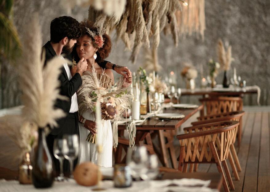 La boda de sus sueños con la mejor decoración artesanal y sostenible, ¡sí es posible con Emotions Deco!