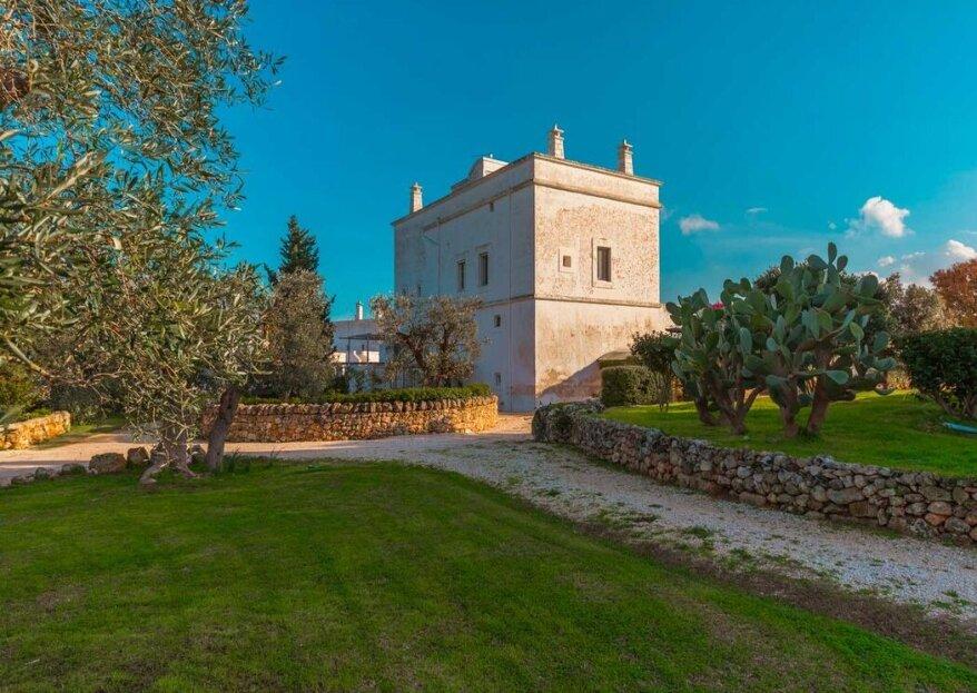 Masseria Torre Abate Risi: un matrimonio all'insegna dell'autenticità della tradizione pugliese e dell'ospitalità!