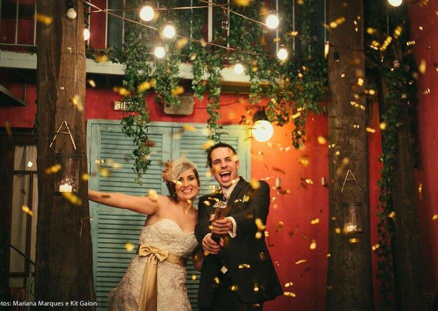 Espaços perfeitos para um elopement wedding romântico e inesquecível!