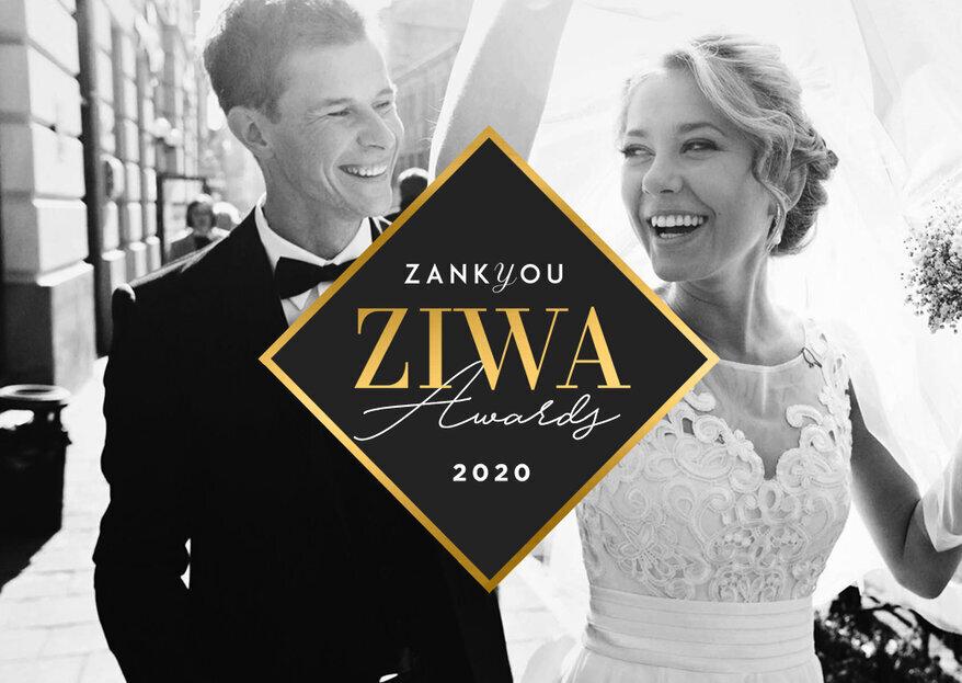 Premios ZIWA 2020: ¡el reconocimiento a los mejores proveedores de las bodas!