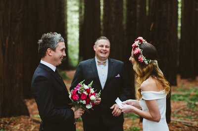 Josh marrying Jade and Lewis | Photo: Michael Briggs for The Elopement Collective