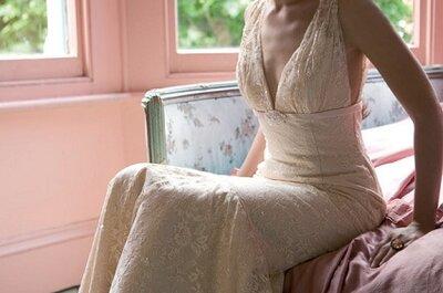 Vestido da semana: renda francesa vintage