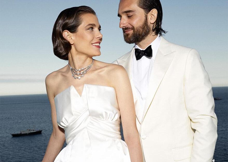 "Casamento no Mónaco: Charlotte Casiraghi disse o ""Sim"" a Dimitri Rassam"