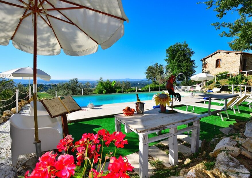 Bask Under The Tuscan Sun At Country Resort Il Frassine