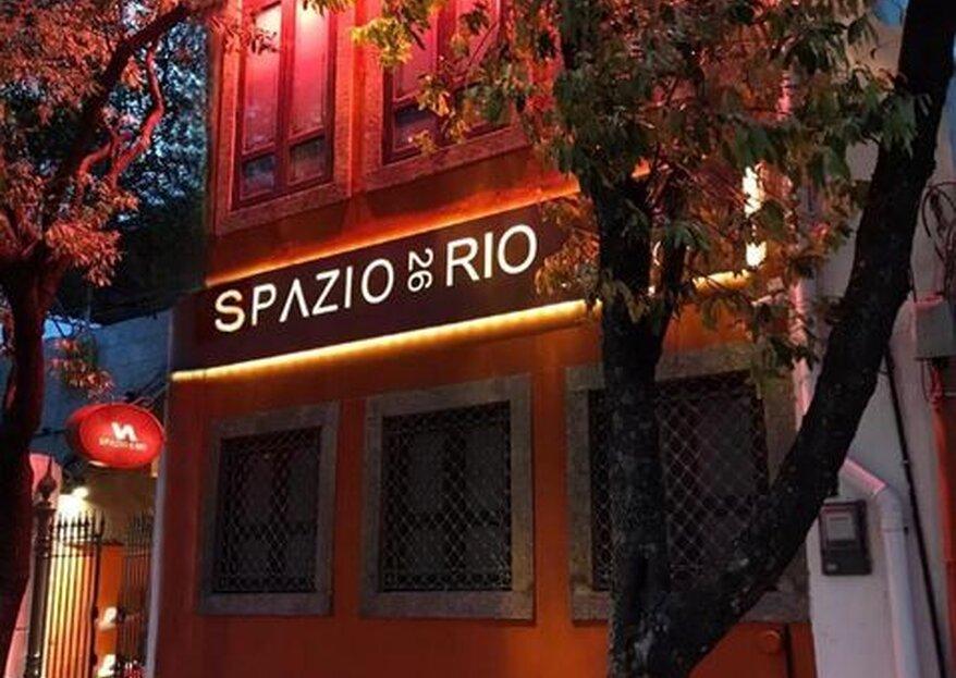 Spazio26Rio: Descubra porque essa é a casa de festas mais charmosa e versátil da zona sul do Rio de Janeiro!