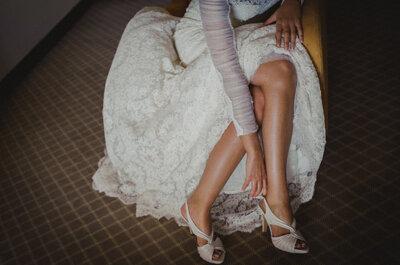 7 geniales trucos para lucir los tacones el día de la boda, ¡seas novia o invitada!