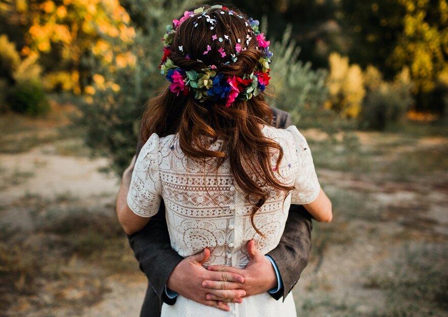 10 alternativas a un vestido de novia tradicional