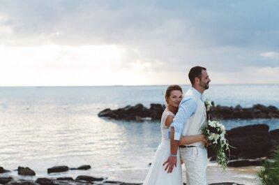 Le mariage paradisiaque à l'Île Maurice d'Elise + Geoffrey