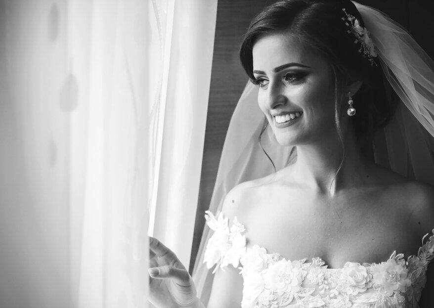 Come scegliere il velo giusto in base all'abito da sposa: la parola all'esperta