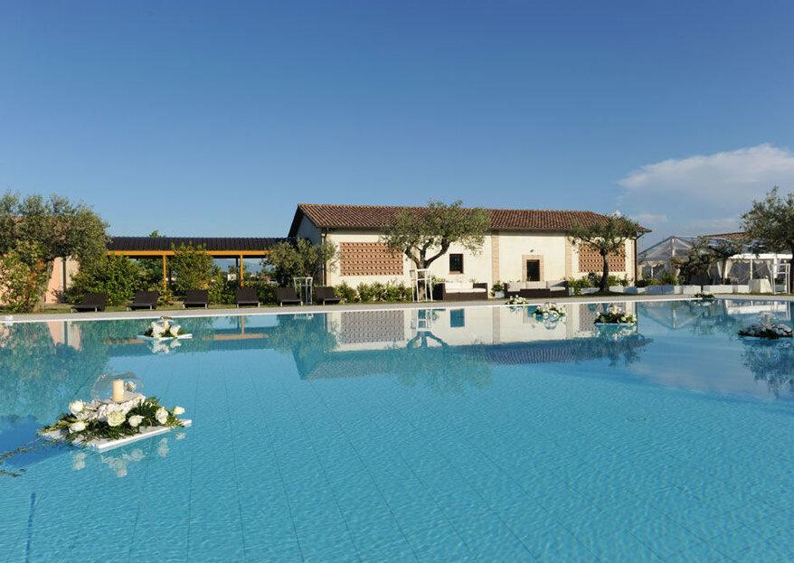 Hotel Spa & Golf Valle di Assisi: senti, vivi e ricorda le tue nozze nel cuore umbro