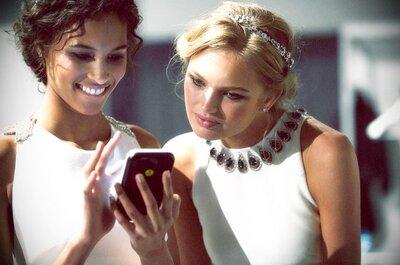 Guida all'uso (e all'abuso) del cellulare durante il banchetto di nozze